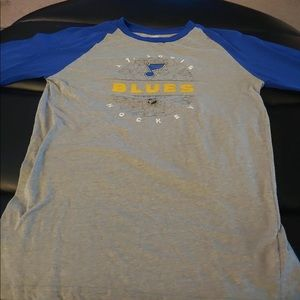 St.Louis Blues long sleeve top - Size Youth XL